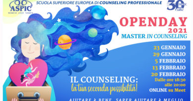 OPEN DAY 2021 MASTER IN COUNSELING