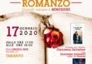 """Ogni Vita merita un Romanzo"" 17 Gennaio   TARANTO"