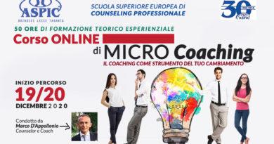 CORSO ONLINE di MicroCoaching